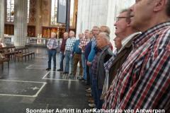 38 Singen in der Kathedrale in Antwerpen
