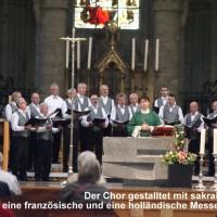68 Singen in der Brüsseler Kathedrale