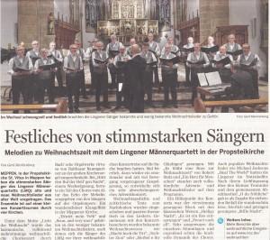 MT Konzertkritik Meppen 17.12.2014